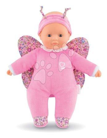 Panenky od 9 měsíců - Panenka motýlek Sweet Heart Butterfly Corolle s modrýma očima a křidélky s tykadly 30 cm od 9 měs