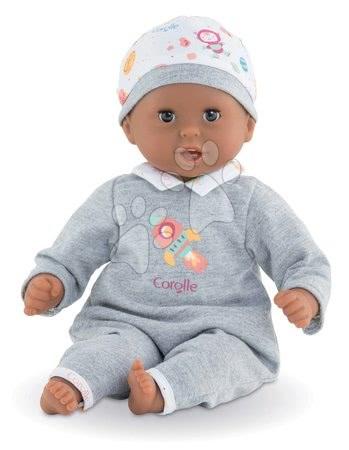 Corolle - Păpușa Bebe Calin Marius Corolle cu ochi negri clipitori și biluțe 30 cm de la 18 luni