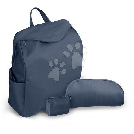 Prebaľovacia taška toT's-smarTrike Posh modrá 3v1 vodeodolná s termoobalom na fľašu + doplnkami 37*17*42 cm TO100602