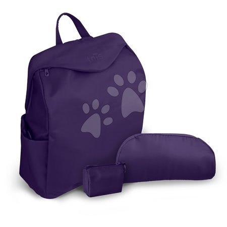 Prebaľovacia taška toT's-smarTrike Posh fialová 3v1 vodeodolná s termoobalom na fľašu + doplnkami 37*17*42 cm TO100603