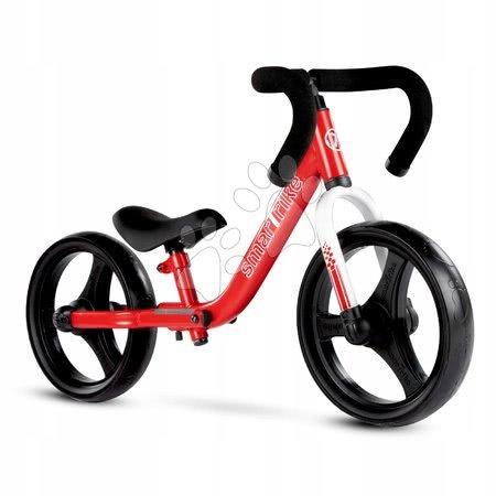 Otroški poganjalci - Poganjalno kolo zložljivo Folding Balance Bike Red smarTrike iz aluminija z ergonomskimi ročkami od 2-5 leta