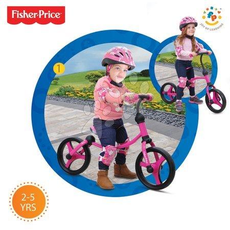 Vozidlá pre deti smarTrike - Balančné odrážadlo Fisher-Price Running Bike 2v1 smarTrike ružovo-čierne od 24 mes_1