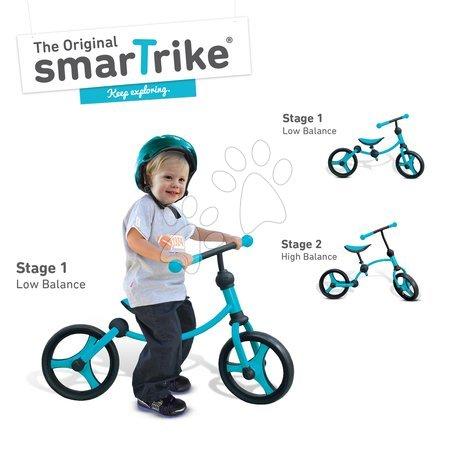 Vozidlá pre deti smarTrike - Balančné odrážadlo Running Bike 2v1 smarTrike modro-čierne od 24 mes_1
