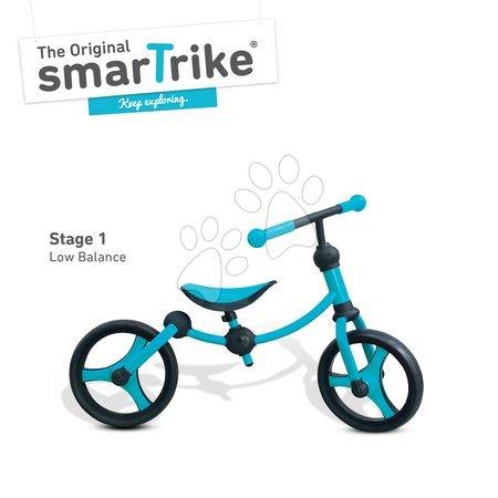 Vozidlá pre deti smarTrike - Balančné odrážadlo Running Bike 2v1 smarTrike modro-čierne od 24 mes