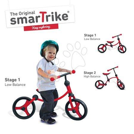 Vozidlá pre deti smarTrike - Balančné odrážadlo Running Bike 2v1 smarTrike červeno-čierne od 24 mes_1
