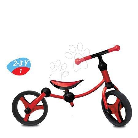 Vozidlá pre deti smarTrike - Balančné odrážadlo Running Bike 2v1 smarTrike červeno-čierne od 24 mes