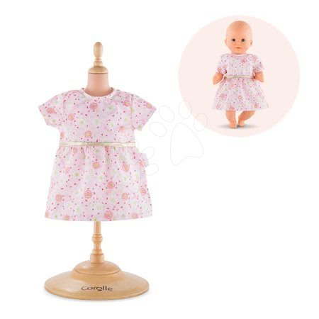 Oblečenie Dress Pink Bébé Corolle pre 30 cm bábiku od 18 mes