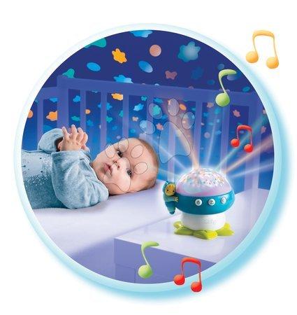 Hračky do postieľky  - Projektor k postieľke Hríb Cotoons Smoby so svetlom a 4 melódiami od 0 mesiacov_1