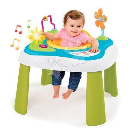 Készségfejlesztő játszóasztal Youpi Baby Smoby elektronikus, hanggal és fénnyel 6 hó-tól