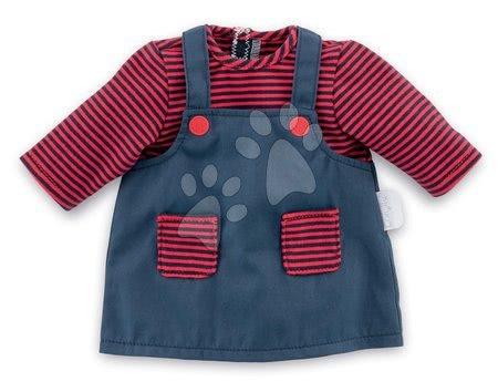 Oblečení pro panenky - Oblečení Dress Striped Corolle pro 30 cm panenku od 18 měs