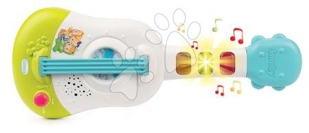 Ukulele hudební nástroj Cotoons Smoby elektronický se zvukem a světlem