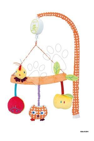 Hračky do postieľky  - Kolotoč nad postieľku Colors-Musical Mobile Kaloo hudobný 26 cm v darčekovom balení pre najmenších