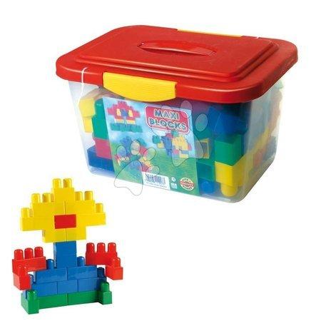 Játékkockák Maxi Blocks Dohány dobozban 56 darabos 18 hó-tól