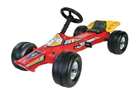 Čtyřkolka na šlapání Go Kart Dohány auto červená