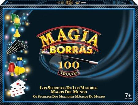 Spoločenské hry - Kúzelnícke hry a triky Magia Borras Classic Educa 100 hier španielsky a katalánsky od 7 rokov