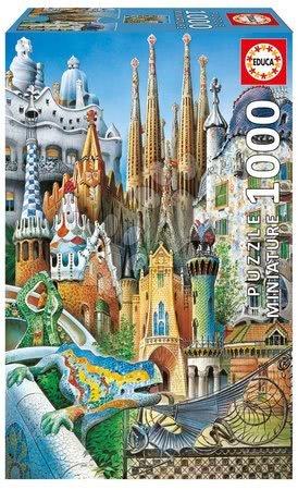 Puzzle Miniature Series - Collage Educa 1000 dílů od 12 let