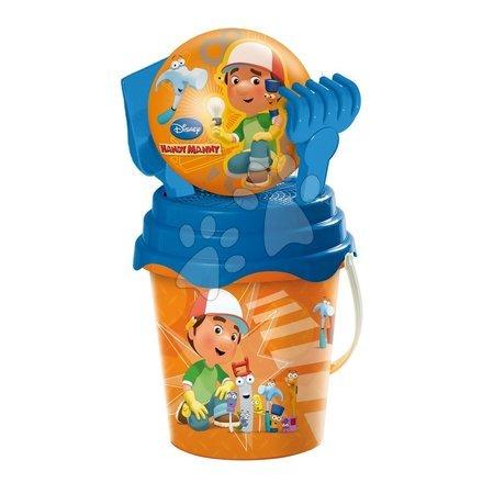 Vedro set pre deti s loptou Handy Manny Mondo 5 dielov (výška 19 cm) od 18 mesiacov