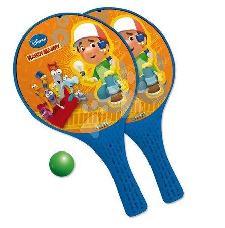 Plážový tenis set Handy Manny Mondo s 2 raketami a míčkem