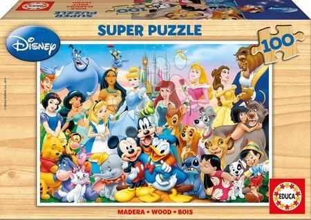 12002 a drevene puzzle disney