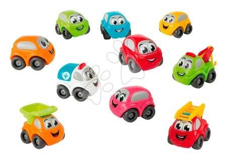Autíčka a trenažéry - Autíčka Bubble Car Tube Vroom Planet Smoby 10 druhů osobní a pracovní od 12 měsíců_1