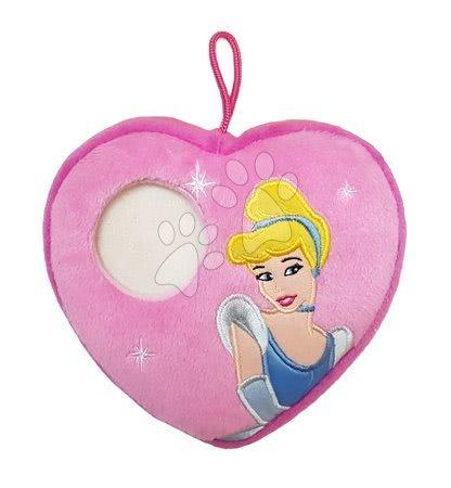 Princese - Jastučić Pepeljuga srce s mjestom za fotografiju Ilanit 16*16 cm