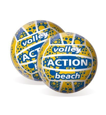Sportlabdák - Röplabda labda Volley Action Beach Unice gumiból 22 cm