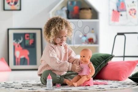 Kuchynky pre deti sety - Set reštaurácia s elektronickou kuchynkou Chef Corner Restaurant Smoby s jedálenskou stoličkou a cikajúcou bábikou_1
