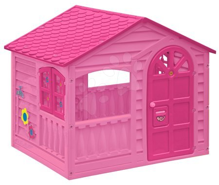 Domček pre deti Happy House PalPlay od 2 rokov ružový