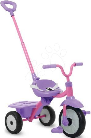 Zložljiv tricikel Folding Fun Trike 2in1 Pink smarTrike rožnati z varnostnim pasom od 15 mes