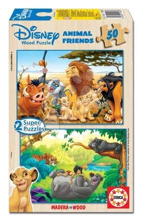 13144 a drevene puzzle lion guard