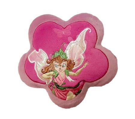 Blazinica Fairies v obliki rožice Ilanit rožnata premer 18 cm