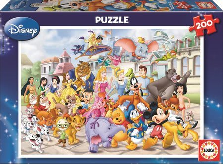 13289 b educa puzzle disney