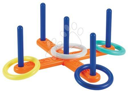Športové hry pre deti - Kruhy na hádzanie Écoiffier so stojanom od 18 mes