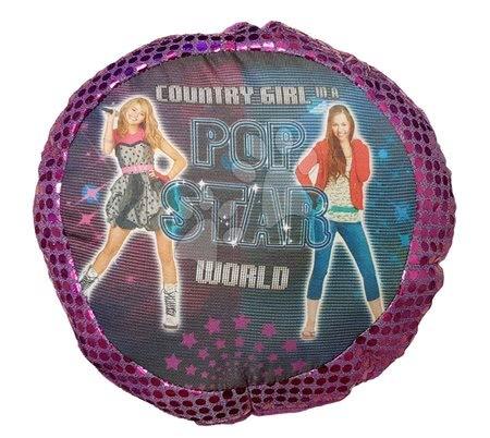 Plüsspárnák - Kispárna Pop Star Country Girl Ilanit lila 25 cm