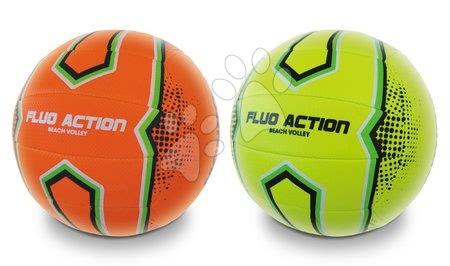 Labdák - Röplabda varrott Beach Volley Fluo Action Mondo méret 5