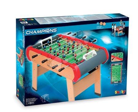 Jocuri de societate - Fotbal de masă din lemn Champions Smoby de la 8 ani_1