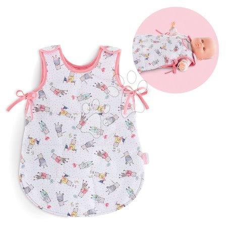 Dodatki za punčke in dojenčke - Spalna vreča s sličicami Mon Grand Poupon Corolle za 36-42 cm dojenčka od 24 mes