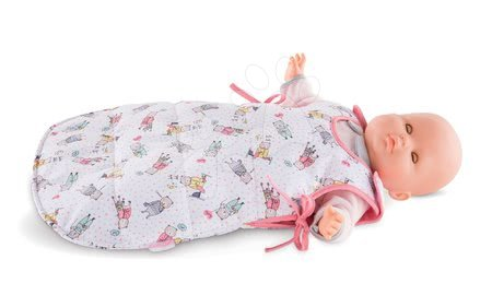 Dodatki za punčke in dojenčke - Spalna vreča s sličicami Mon Grand Poupon Corolle za 36-42 cm dojenčka od 24 mes_1