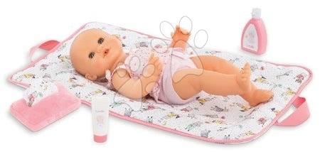 Dodatki za punčke in dojenčke - Previjalna torba s podlogo 2v1 Mon Grand Poupon Corolle s 5 dodatki za 36-42 cm dojenčka od 24 mes_1