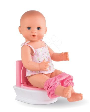 Dodatki za punčke in dojenčke - Stranišče Interactive Toilet Mon Grand Poupon Corolle za 36-42 cm dojenčka od 3 leta_1