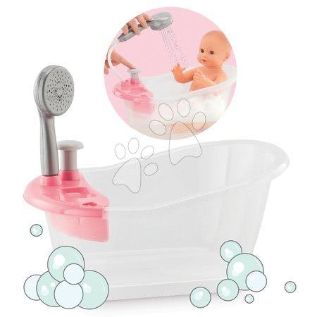 Dodatki za punčke in dojenčke - Banjica s prho Mon Grand Poupon Corolle za 36-42 cm dojenčka od 24 mes