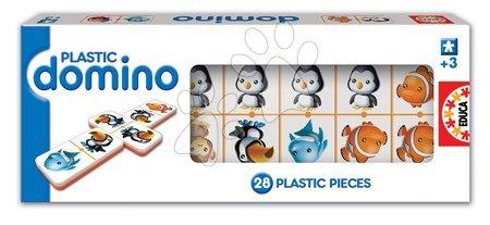 Igra domino Plastic Educa 28 kom sa životinjama