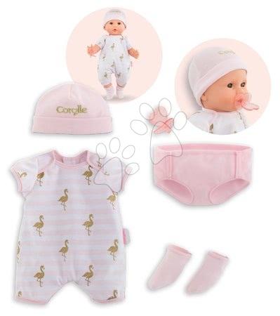 Oblečení pro panenky - Oblečení Layette set Mon Grand Poupon Corolle pro 36 cm panenku od 24 měs