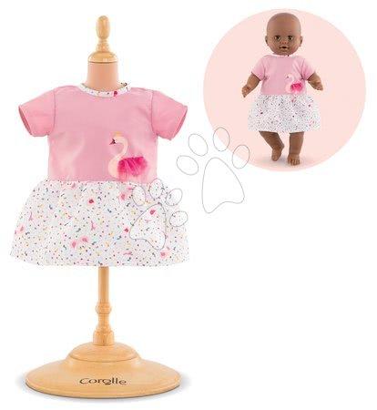 Oblečení pro panenky - Oblečení Dress Swan Royale Mon Grand Poupon Corolle pro 36 cm panenku od 24 měs