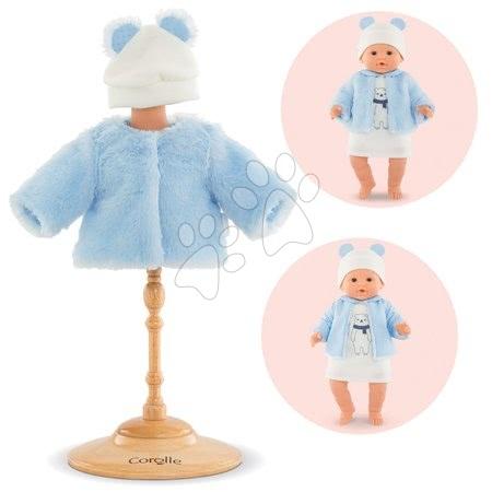 Oblečení pro panenky - Oblečení Coat Winter Sparkle Mon Grand Poupon Corolle pro 36 cm panenku od 24 měs