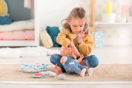 Dodatki za punčke in dojenčke - Zdravniška torbica Large Coral Doctor Set Mon Grand Poupon Corolle z zvokom za 36-42 cm dojenčka od 24 mes_1