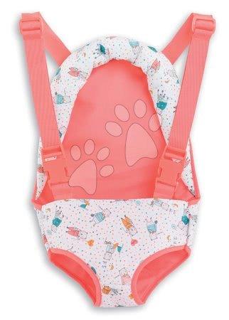 Dodatki za punčke in dojenčke - Kengurujček za nošenje Baby Doll Sling Mon Grand Poupon Corolle za 36-42 cm dojenčka