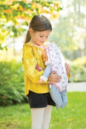 Dodatki za punčke in dojenčke - Kengurujček za nošenje Baby Doll Sling Mon Grand Poupon Corolle za 36-42 cm dojenčka_1