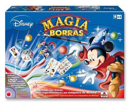 Spoločenské hry - Kúzelnícke hry Mickey Mouse Disney Magia Borras Educa s vysvetľujúcim DVD od 5 rokov španielsky