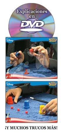 Spoločenské hry - Kúzelnícke hry Mickey Mouse Disney Magia Borras Educa s vysvetľujúcim DVD od 5 rokov španielsky_1